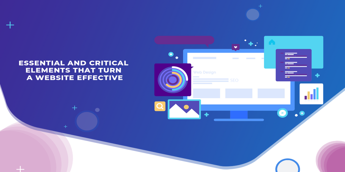 essential and critical elements that turn a website effective