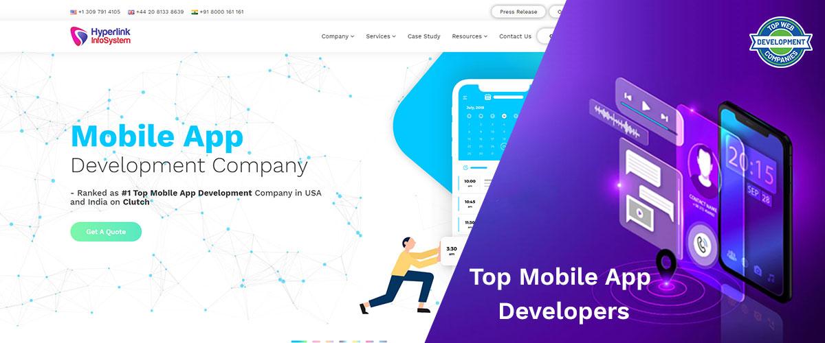 Top 10+ Mobile App Development Companies in 2020