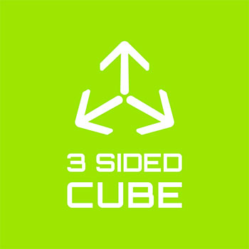 3 sides cube