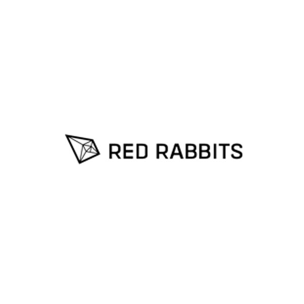 red rabbits as